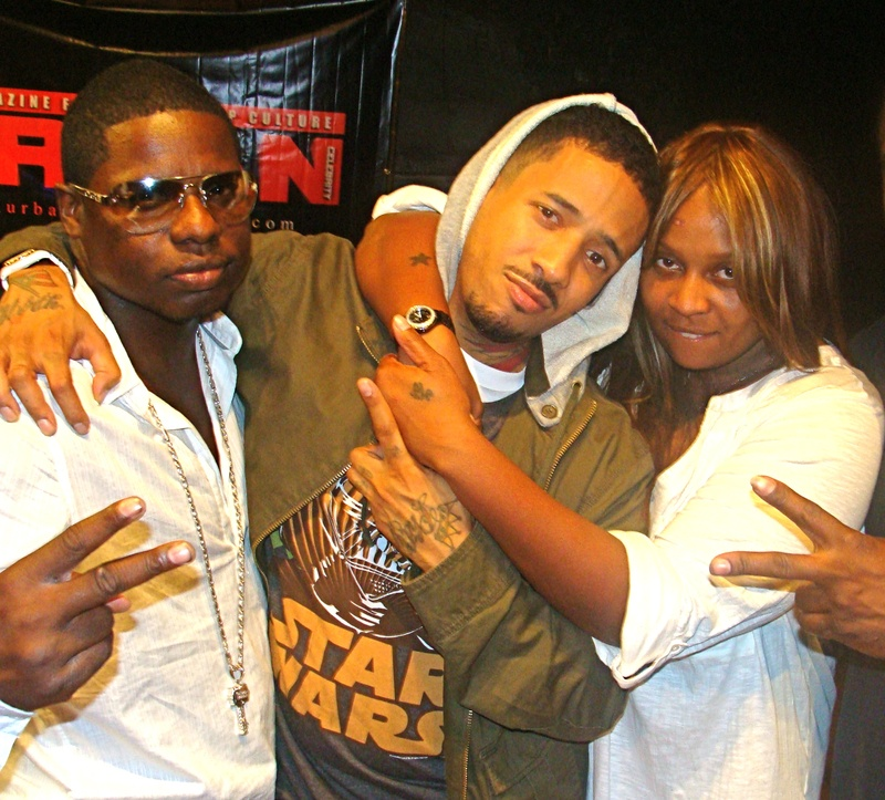 Markee Djordan with Peedi & Ms. Jade